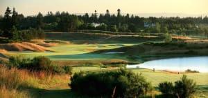 Golfen auf dem Ryder-Cup-Platz