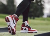 """Der Nike Air Jordan I Golf wurde von niemand geringerem als """"His Airness"""" Michael Jordan mitentwickelt. (Foto: Nike)"""