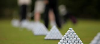 Golfballpyramide (Foto: clappstar)