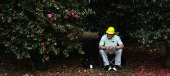 Golf-Marshall in Augusta