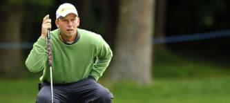 Marcel Siem qualifizierte sich 2014 zusammen mit Maximilian Kieffer in England für die US Open.