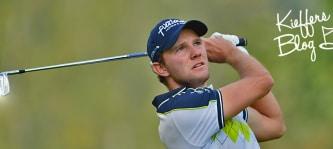Maximilian Kieffer bloggt auch diese Woche bei Golf Post