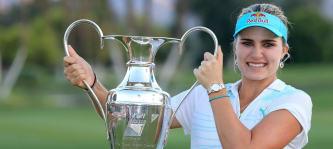Lexi Thompson sicherte sich den Sieg bei der Kraft Nabisco Championship