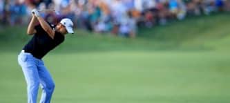 Bernd Wiesberger überrascht am Moving Day der PGA Championship 2014 und beendet den Tag als alleiniger zweiter. (Foto: Getty)