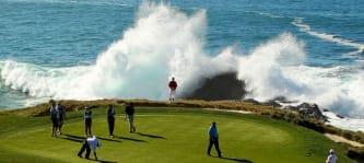 Pebble Beach ist einer der beliebtesten Golfplätze weltweit und für Gäste offen. (Foto: Getty)