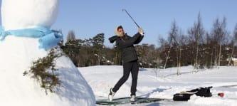 Alternativen zum Golftraining im Winter (Foto: Getty)