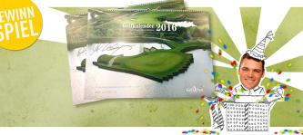 Sichern Sie sich jetzt die Chance auf einen von Martin Kaymer signierten Golf Post Golfkalender 2016. (Bild: Golf Post)