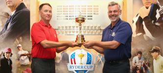 Der Kampf um den Ryder Cup 2016 hat schon begonnen. Bei Twitter lieferten sich die Teams einen Schlagabtausch. (Foto: Getty)
