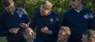 Die Stimung im Team Europa ist gut: Vor dem Ryder Cup 2016 wird offen über alles geredet. (Foto: Getty)
