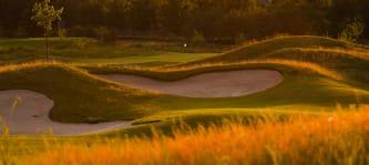 Der Links Course des Kölner Golfclubs im goldenen Herbst (Foto: Kölner Golfclub)