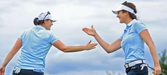 Golf Post Talk Sandra Gal Caroline Masson Bank of Hope Founders Cup