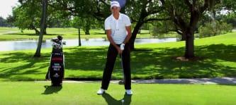 European-Tour-Spieler Rafael Cabrera Bello gibt bei der BMW Internatiponal Open in München eine Golf Clinic. (Foto: Youtube/Titleist)