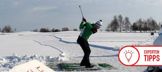 Trainingstipp Golf Winter Fabian Bünker