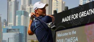 Martin Kaymer beim Moving Day der Dubai Desert Classic. (Foto: Uwe Erensmann für Golf Post)