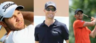 Beim Commercial Bank Qatar Masters auf der European Tour haben Sebastian Heisele und Marcel Schneider stark vorgelegt. Maximilian Kieffer verspielt an Loch 18 die Topplatzierung. (Foto: Titleist / twitter.com/SHeisele /Marcel Schneider)