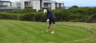 Henry Ost macht seit Herbst 2017 Krafttraining und ist dadurch ein besserer Golfer geworden. (Foto: privat)