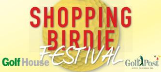 Golf House Shopping Birdie Festival Jubiläum