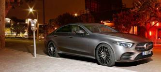 Ein Mercedes-Benz CLS Coupé ist der Hauptpreis des After Work Golf Cups (Foto: Mercedes-Benz)