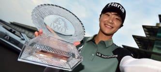 Sieger-Selfie von Sung Hyun Park nach dem dritten Saisonsieg auf der LPGA Tour. (Foto: Twitter/@LPGA)