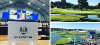 Golf Post Live vor Ort beim Ryder Cup 2018. (Foto: Golf Post)