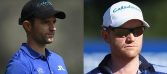 Marcel Schneider (l) und Philipp Mejow sind aussichtsreich in das Challenge Tour Grand Final gestartet. (Foto: Getty)