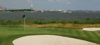 Der Liberty National am Hudson Bay gehört zu den teuersten Golfclubs der Welt. (Foto: Getty)