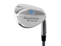 Titan Golf Razorback SD-1 milled Wedges Silver