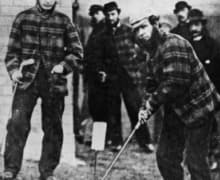 1867, 1864, 1862, 1861 british Open Old Tom Morris