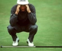 Golf-Albtraum