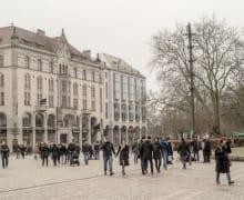 Die Innenstadt von Malmö