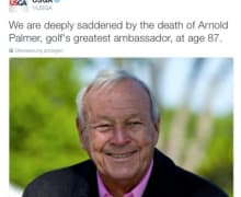 Arnold Palmers Tod 2
