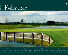 Golfkalender 2013 Februar
