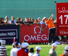 Golf Post  - Marcel Siem in Dubai im Februar 2012