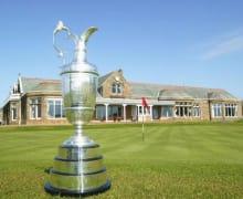 Open Championship Trophy 18. Gruen
