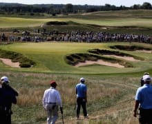 K640_US Open 2017 Erin Hills Loch 9 Getty