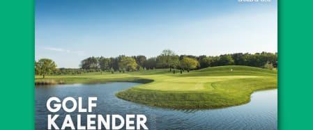 Golfkalender 2019 mit 2für1 Greenfee-Gutscheinen