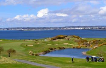 Der Galway Bay Golf Club.