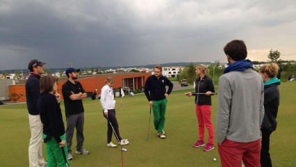 Trainingsgruppe GolfPost beim Kölner Golf Club