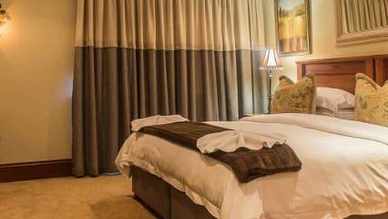 Die Lodge verfügt über fünf komfortable ausgestattete Doppelzimmer (Foto: Gowrie Farm)