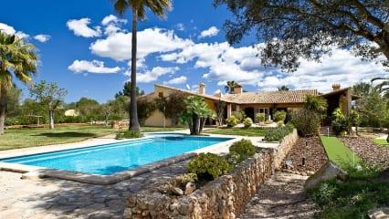 Golfen auf Mallorca - Wohnen in der Villa Ca'n Perla