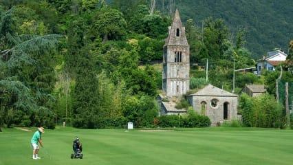 Golfrundreise durch Italien: Golf Club Rapallo. (Foto: ruhrtours Reisen GmbH)