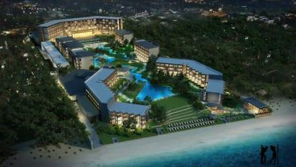 Das Hua Hin Marriott Resort & Spa befindet sich an einem makellosen Sandstrand. (Foto: keepthemoment)