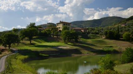 Golfrundreise durch Italien: Golf Club Montecatini. (Foto: ruhrtours Reisen GmbH)