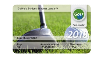 Greenfee-Mitgliedschaft 2018 - Golfen auf allen Plätzen zum Special-Preis