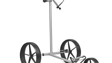 Der TiCad Canto ist der leichteste Push-Trolley im Sortiment der deutschen Trolley-Manufaktur. (Foto: TiCad)