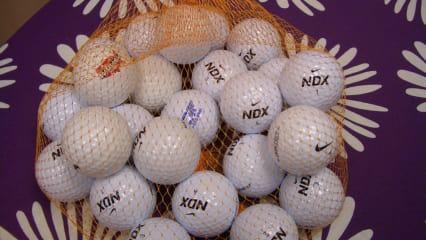 50 Nike Golfbälle ** NDX ** Nike NDX Lakeballs im Netzbeutel - TOP