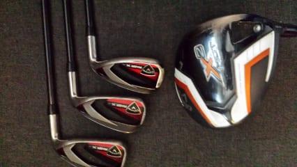 6 Golfschläger ( Callaway,Ping und Pro f 3000 )