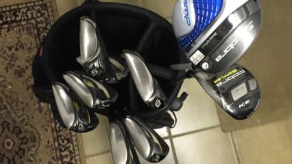 9teiliges Cobra Golf SchlägerSet inkl. 2 Bags