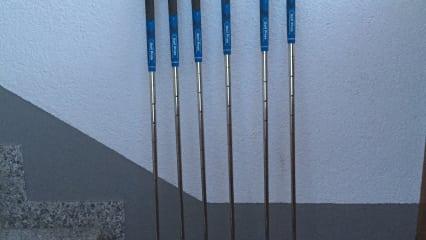Ping S55 Eisensatz 5-PW, Stahlschaft Stiff