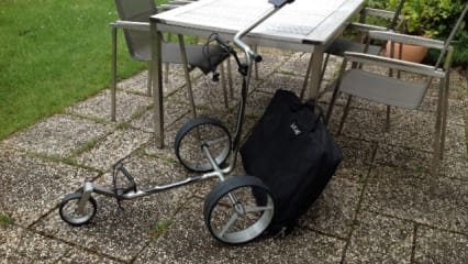 JuCad Carbon 3-Rad Trolley
